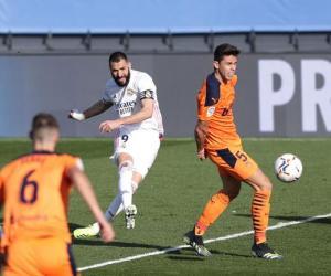 本泽马力助皇马获胜 近3赛季非点球进球超C罗