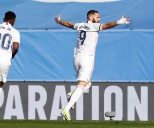 西甲-本泽马克罗斯进球 皇马2-0瓦伦西亚夺3连胜